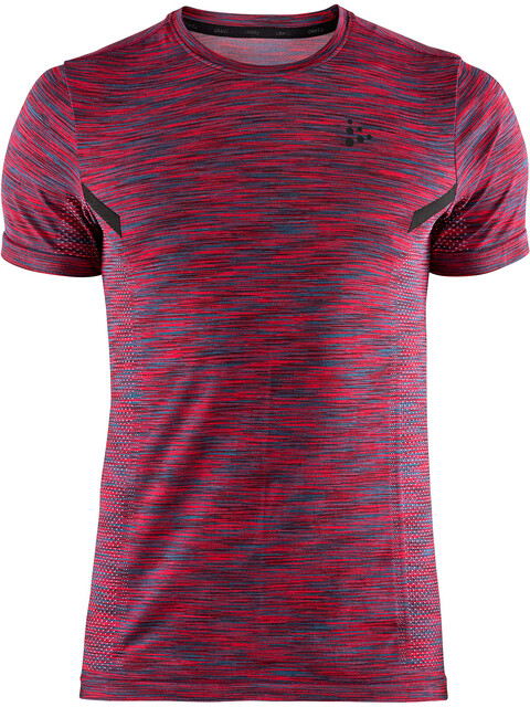 Craft M's Breakaway Multi Fuseknit Short Sleeve Shirt Rio/Multi